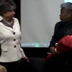 Georgia Davis Powers and J.J. Jackson