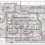 Downtown Design Plan 1965 - map