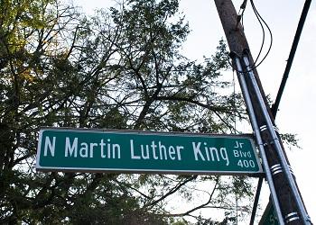 N Martin Luther King Jr Blvd street sign | Kentucky Women ...