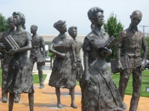 """Little Rock Nine Memorial"""