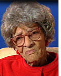 Photograph of Jennie Wilson, 102