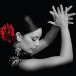 Flamenco dancer clapping