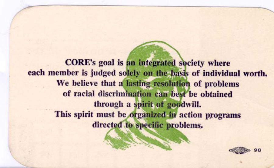 CORE membership card