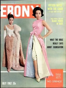 Ebony magazine cover, July 1962